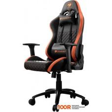 Игровое кресло Cougar Rampart (черный)