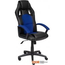 Игровое кресло TetChair Driver (черный/синий)