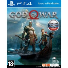 Игра для консоли PlayStation 4 God of War