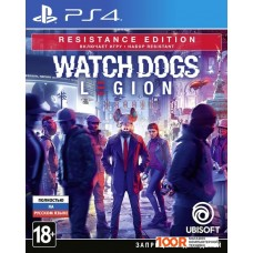 Игра для консоли PlayStation 4 Watch Dogs: Legion. Resistance Edition