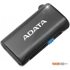 Картридер A-Data OTG microReader AOTGMRBK