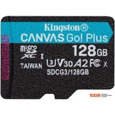 Карта памяти Kingston Canvas Go! Plus microSDXC 128GB