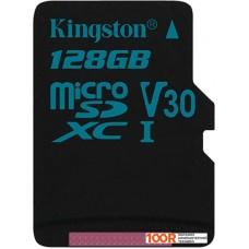 Карта памяти Kingston Canvas Go! SDCG2/128GBSP microSDXC 128GB
