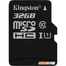 Карта памяти Kingston Canvas Select SDCS/32GBSP microSDHC 32GB