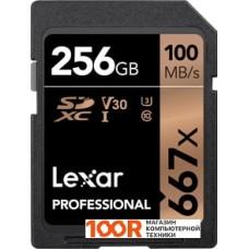 Карта памяти Lexar LSD256B667 SDXC 256GB