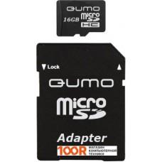 Карта памяти QUMO microSDHC (Class 4) 8GB