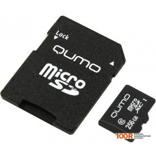 Карта памяти QUMO microSDXC QM256GMICSDXC10U3 256GB