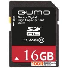 Карта памяти QUMO SDHC (Class 10) 16GB