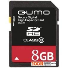 Карта памяти QUMO SDHC (Class 10) 8GB