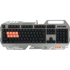 Клавиатура A4Tech Bloody B418 (серый)