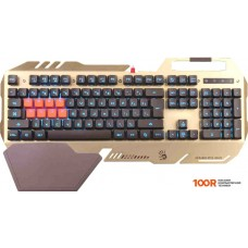 Клавиатура A4Tech Bloody B418 (золотистый)