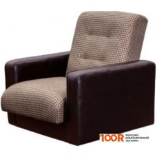 Кресло Craftmebel Лондон (корфу микс, коричневый)