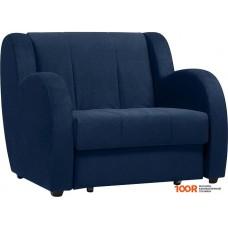 Кресло Divan Борнео Velvet Blue (синий)