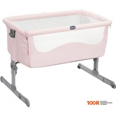 Кроватка Chicco Next2me (french rose)