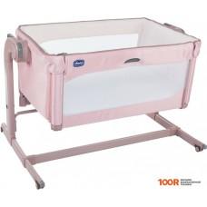 Кроватка Chicco Next2me Magic (розовый)