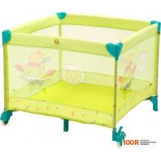 Манеж Happy Baby Alex (зеленый)