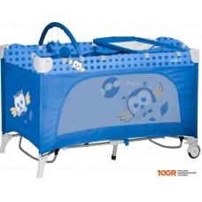 Манеж Lorelli Travel Kid Rocker Blue Baby Owl [10080231418]
