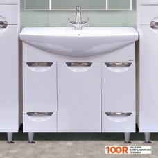 Мебель для ванной Misty Тумба под умывальник Орхидея 85