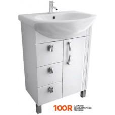 Мебель для ванной Triton Кристи-60 тумба под умывальник с ящиками левая