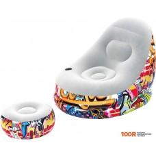 Надувная мебель Bestway Graffiti Comfort Cruiser 75076