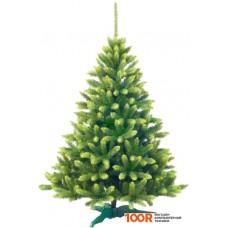 Новогодняя ёлка GreenTerra канадская с зелеными кончиками 2.2 метра