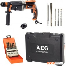 Перфоратор AEG Powertools KH 28 Super XEK KIT4 4935464151