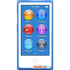 Плеер Apple iPod nano 16GB Blue (7th generation) [MKN02]