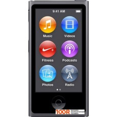 Плеер Apple iPod nano 16GB Space Gray (7th generation) [MKN52]