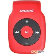 Плеер Digma P2 (красный)