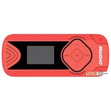 Плеер Digma R3 8GB (красный)