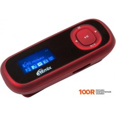 Плеер Ritmix RF-3410 4GB (красный)
