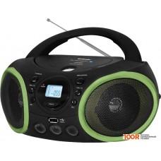 Портативная аудиосистема BBK BX150BT (черный/зеленый)