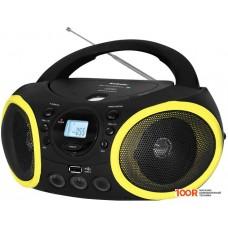 Портативная аудиосистема BBK BX150BT (черный/желтый)
