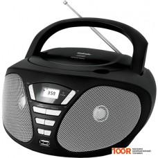 Портативная аудиосистема BBK BX180U (черный/серый)