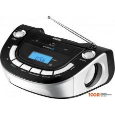 Портативная аудиосистема BBK BS07BT (черный/серебро)