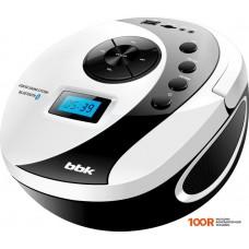 Портативная аудиосистема BBK BS10BT (черный/белый)