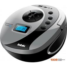 Портативная аудиосистема BBK BS10BT (черный/серый)