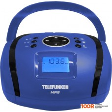 Портативная аудиосистема TELEFUNKEN TF-SRP3449 (синий)