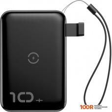 Портативное зарядное устройство Baseus Mini S Bracket Wireless PPXFF10W-01 10000mAh (черный)