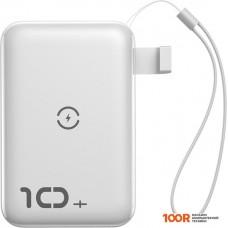 Портативное зарядное устройство Baseus Mini S Bracket Wireless PPXFF10W-02 10000mAh (белый)