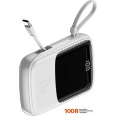 Портативное зарядное устройство Baseus Qpow Digital Display PPQD-A02 10000mAh (белый)