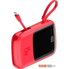 Портативное зарядное устройство Baseus Qpow Digital Display PPQD-B09 10000mAh (красный)