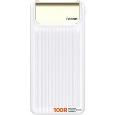 Портативное зарядное устройство Baseus Thin Digital PPYZ-C02 10000mAh (белый)