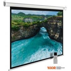 Проекционный экран CACTUS MotoExpert 220x213 CS-PSME-220x165-WT