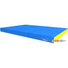 Шведская стенка Romana 1.5x1x0.1м 5.021.10 (голубой/желтый)