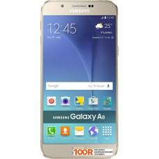 Смартфон Samsung A8 (A8000) Champagne Gold