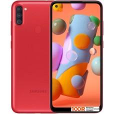 Смартфон Samsung Galaxy A11 SM-A115F/DS 2GB/32GB (красный)