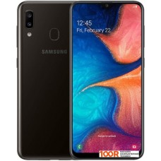 Смартфон Samsung Galaxy A20 3GB/32GB (черный)