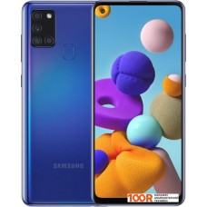 Смартфон Samsung Galaxy A21s SM-A217F/DSN 3GB/32GB (синий)