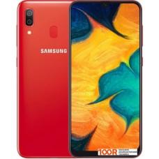 Смартфон Samsung Galaxy A30 4GB/64GB (красный)